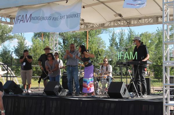 Indigenous Fine Art Market - IFAM - Native American Art Market in Santa Fe New Mexico0
