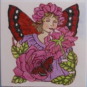 Fairy with Roses Plaque